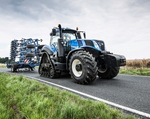New video of T8 Tier 4B New Holland